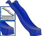 Loggyland Anbaurutsche Wellenrutsche 2,40 blau - TÜV/GS